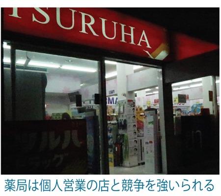 薬局の会社組織化を推進、個人営業の店は税金逃れ?