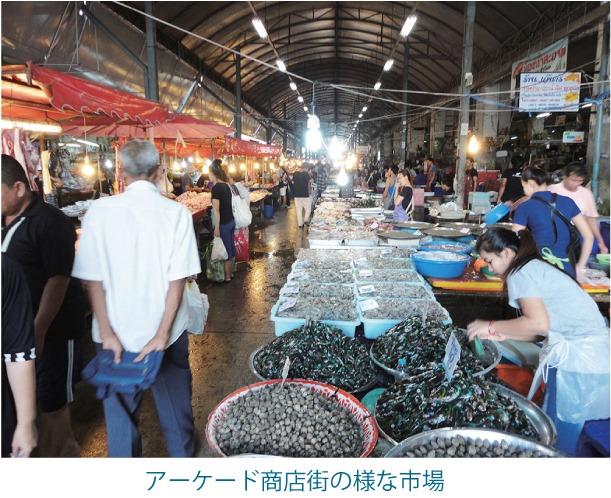 インペリアル・ワールド側にある市場