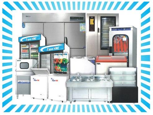 日本レベルの高機能、飲食店向けキッチン