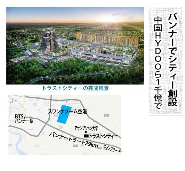 バンナーでシティー創設、中国HYDOOら1千億で