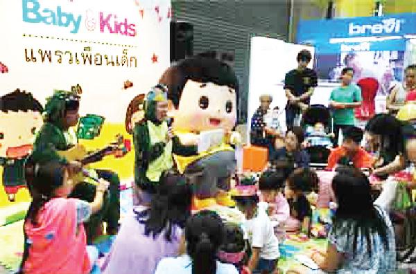 子どもが楽しめるショーも開催されます