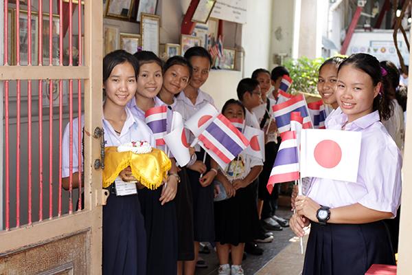 2018年度寄付先 Wat-Arun-Community-Learning-Center