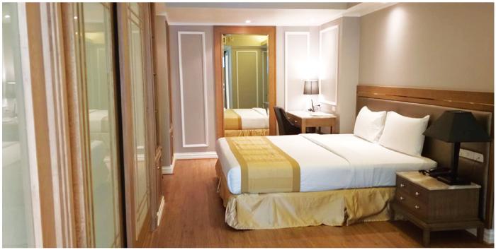 ホープランド・スクムビット24の寝室