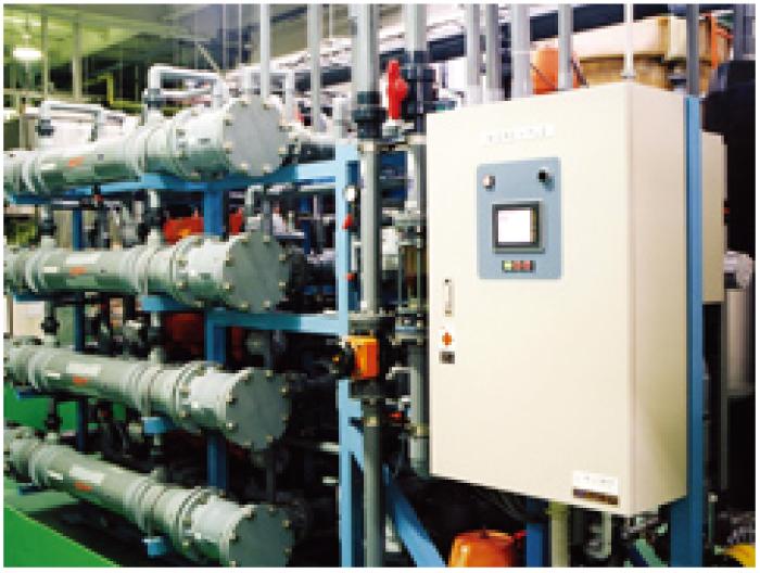 最先端技術を支える純粋・高度純粋製造から、排水無害化を行う環境保全装置までの水処理技術を独自開発