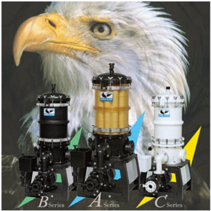 創業以来追及してきた精密ろ過技術21世紀フィルター「EAGLE」