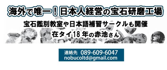 海外で唯一!日本人経営の宝石研磨工場、宝石鑑別教室や日本語補習サークルも開催