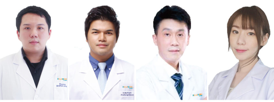 ベラモード・クリニックの医師たち