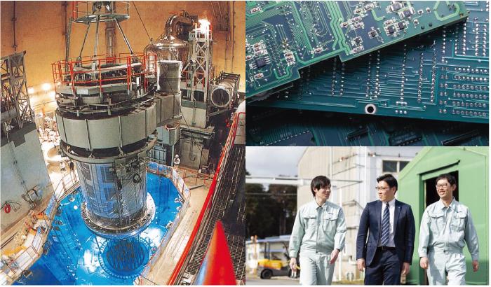 パソコンの製造過程で使用する「洗浄剤」や、自動車の部品を加工する際に使用する「潤滑油」など、暮らしや社会の様々なシーンを、ネオスの技術が支えている