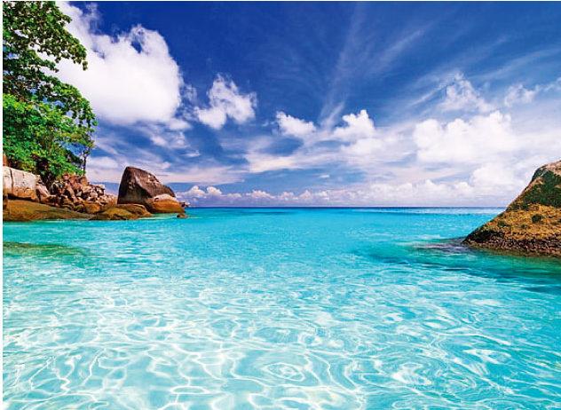 ツアーでは美しい海でシュノーケリングもできます