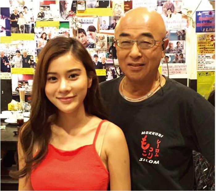 タイの人気女優カァーオさんが来店