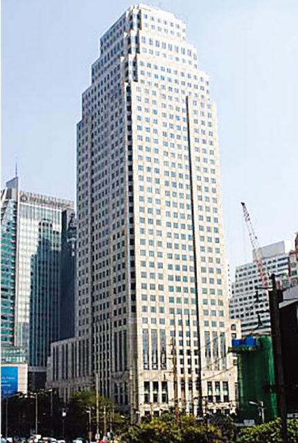 エクスチェンジタワーの外観