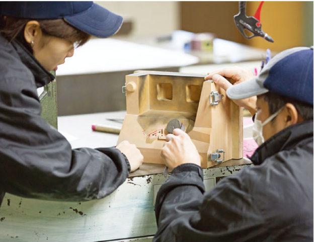 アルミダイカスト木型は日本で製造