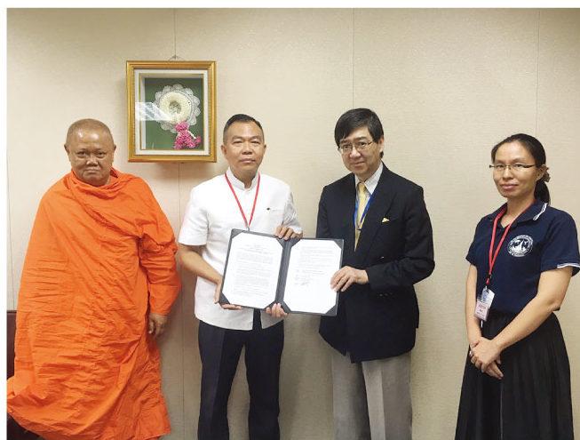 「バンコク都ワットアルンにおける貧困孤児等のための コミュニティラーニングセンター建設計画」への支援