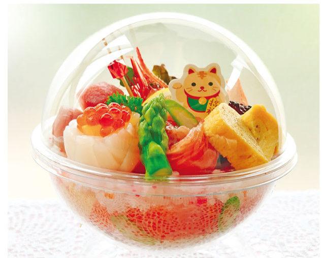 ファミリー大歓迎の日本料理店「博多」ではテイクアウトもできます