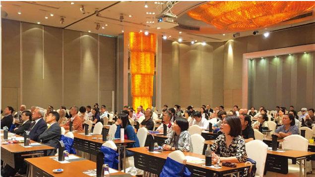 公開講演会場のPullman Bangkok