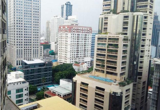 コラムバンコクのオフィスからの眺め