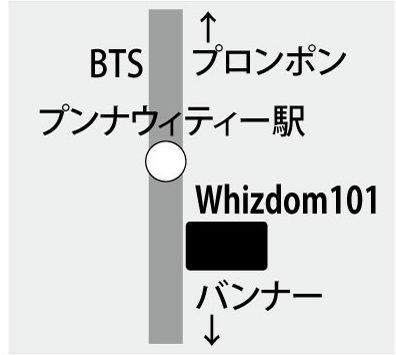 Whizdom101の地図