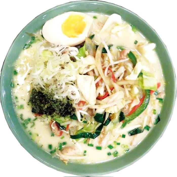 白い恋人野菜麺