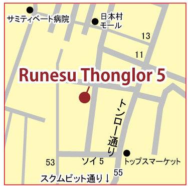 ルネス トンロー 5の地図