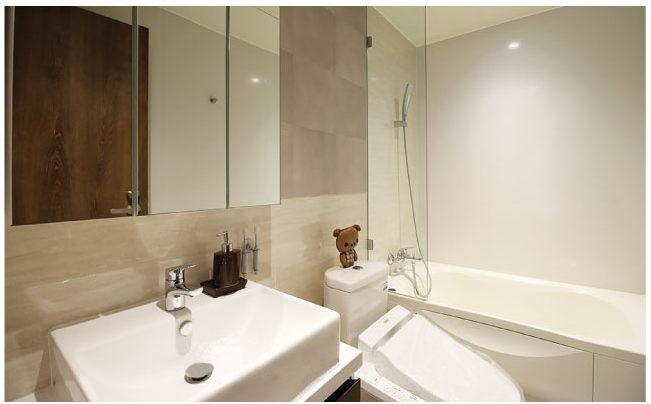 ルネス トンロー 5の浴室