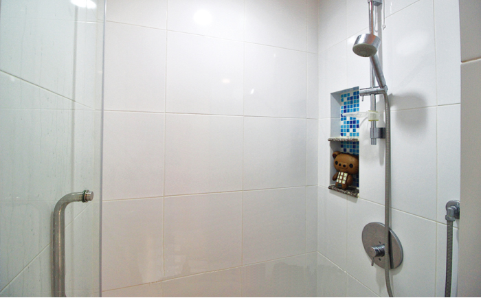 レジデンス52のシャワールーム