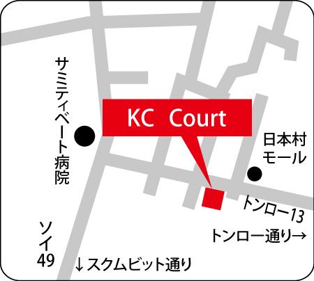 KC Courtの地図
