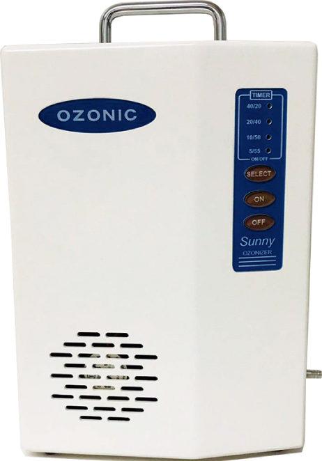 処置室はオゾン殺菌装置で常にクリーン