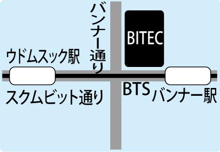 BITECの地図