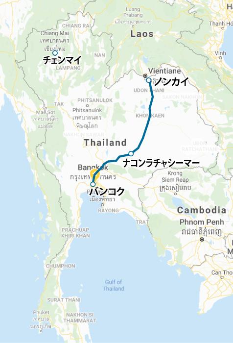 バンコク-ナコンラチャシーマー-ノンカイの高速鉄道の進捗