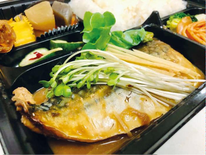 さばみそ煮弁当(200バーツ+VAT)