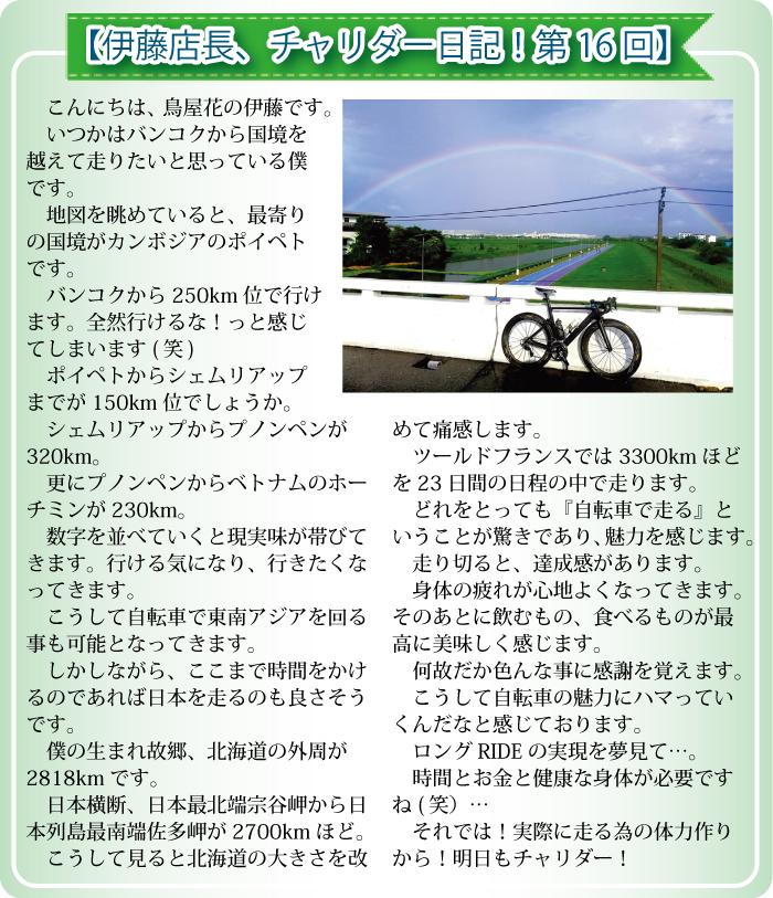 ソイ41の鶏専門店「鳥屋花」【伊藤店長、チャリダー日記!第16回】