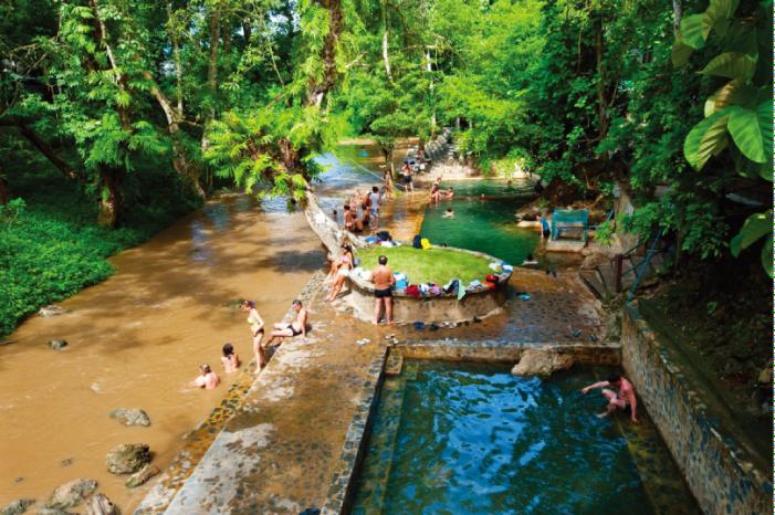 タイで人気のヒンダート温泉