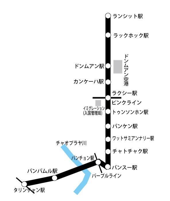 レッドラインはバンスー~タリンチャン、バンスー~ランシット2路線とも2021/3に試運転へ