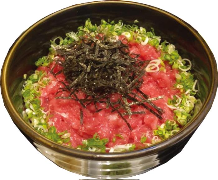 庵寺のネギトロ丼(380バーツ)