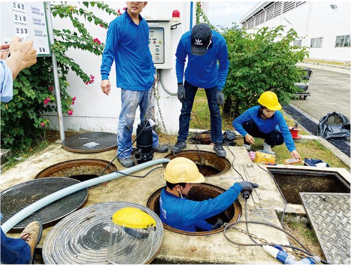 Bプランニングでは排水関連の工事も承ります