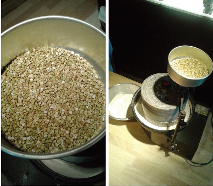 自家製粉で新鮮な蕎麦を提供
