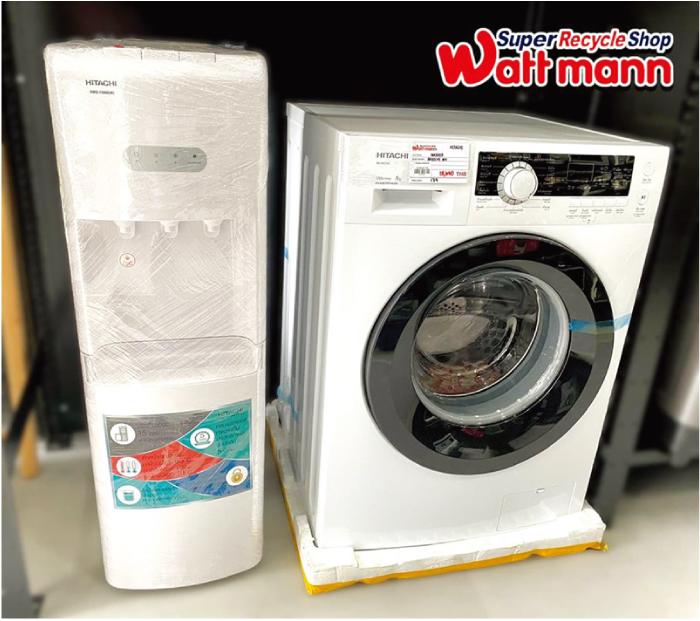 リサイクル・リユースショップのワットマンでは浄水器や洗濯機も販売しています