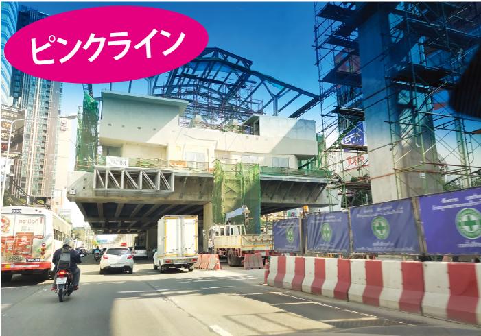 大型の工事となっているチェンワッタナ駅はイミグレーションに行くのに便利になる