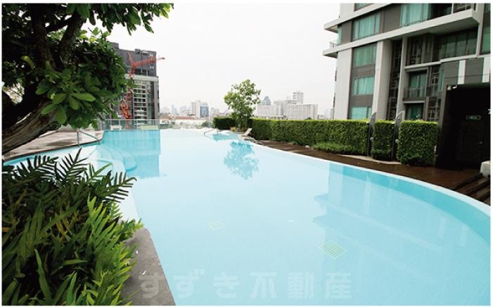 プールの全長は23メートル