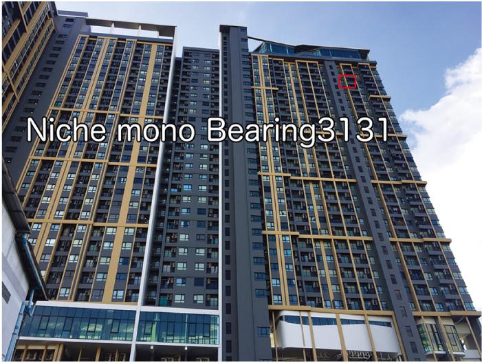 Niche mono Sukhumvit-Bearingの31階の部屋が265万バーツ、元の価格よりも50万バーツ以上も安くなっています