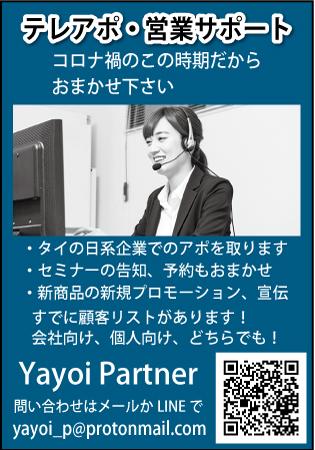 ヤヨイ・パートナーの広告