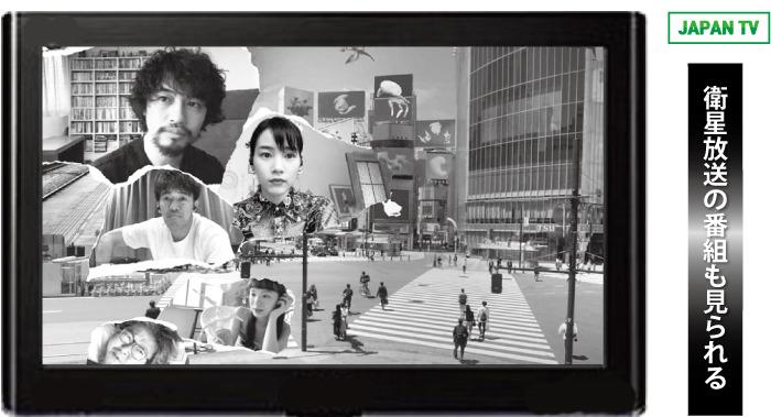 日本映画専門チャンネルも視聴できる
