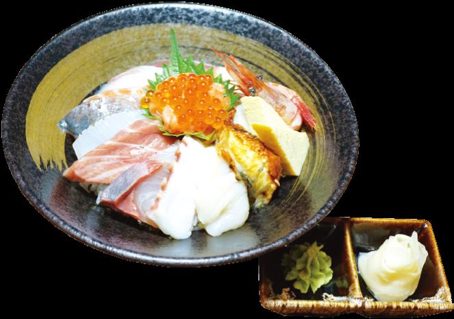 海鮮プレミアム丼(980バーツ)