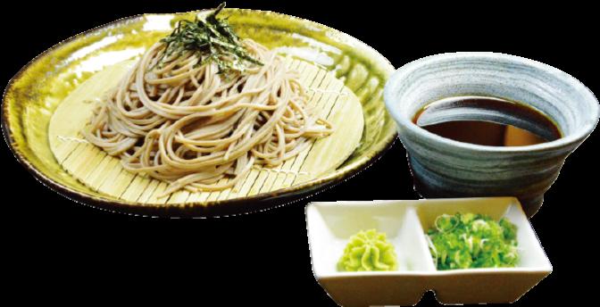 寿司・そば・うどん 庵寺の「ざる蕎麦(150バーツ)」