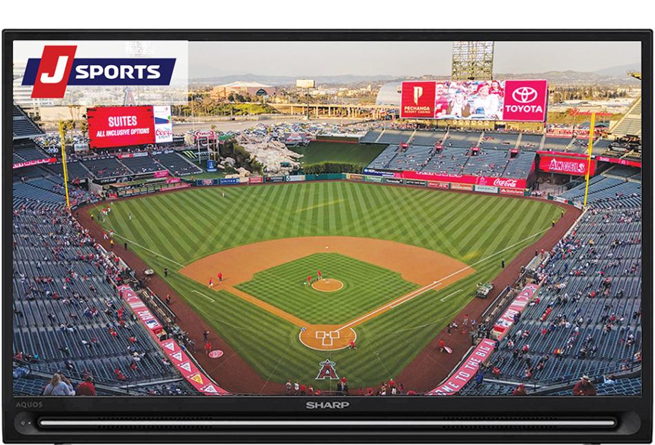 MLBはJスポーツ1・2・3・4で連日中継あり
