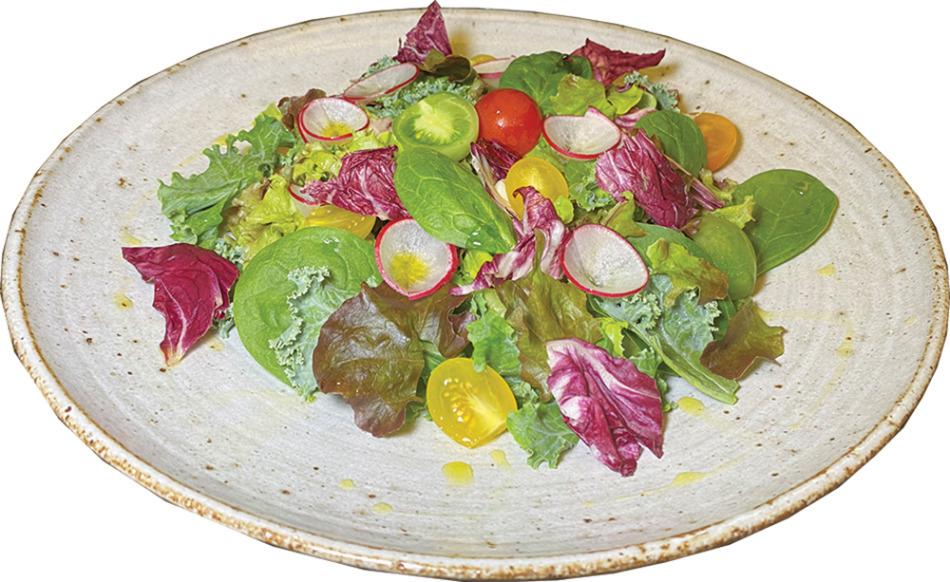 7種の野菜を使ったオーガニックサラダ