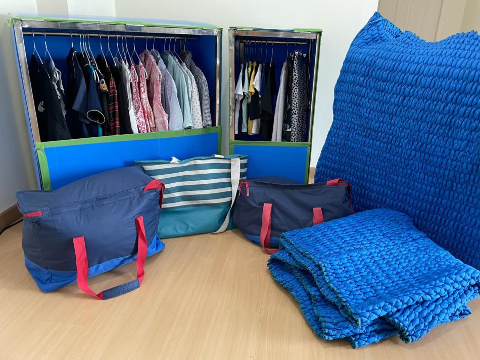 ハンガーボックスや保冷バッグを無料で利用できる