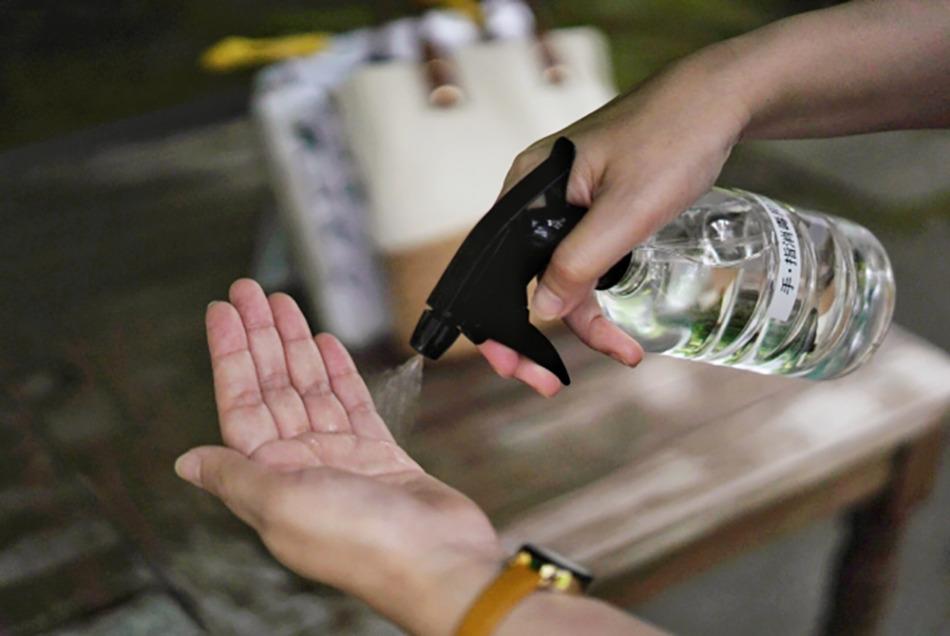黄色ブドウ球菌対策はアルコール消毒も効果的