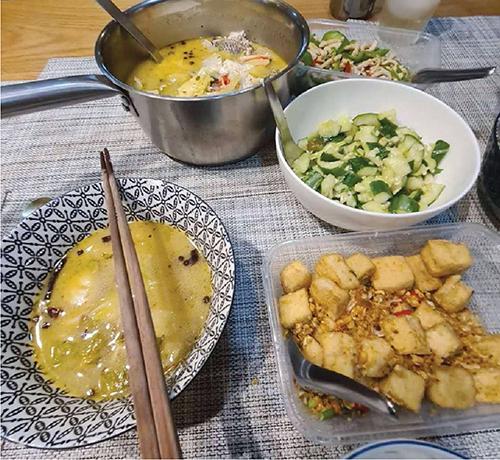 老地方の料理で自宅で楽しむ