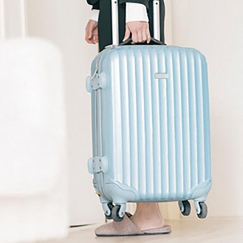 使わないスーツケースはクラウドルームへ